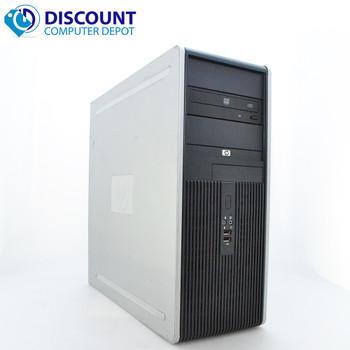 HP DC Desktop PC Computer Tower Windows 10 Intel 1.8GHz 8GB 1TB
