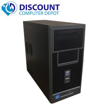 Custom Desktop Computer Intel I3-2100 3.1GHz 4GB 250GB Windows 10