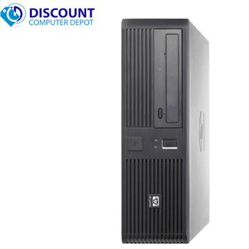 Fast HP Desktop Computer PC Windows 10 PC Intel Core 2 Duo CPU 4GB 160GB Wifi