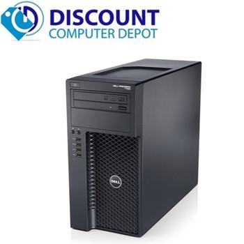 Dell Precision T1650 Workstation Computer PC Xeon 3.4GHz 8GB 1TB Windows 10 Pro