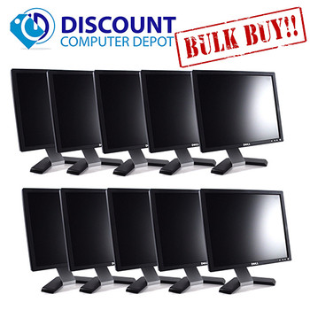 "Dell UltraSharp 1707-1708 17"" PC LCD Monitor (Grade-A Lot of 10)"