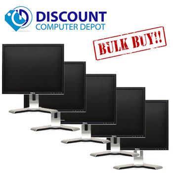 """Dell UltraSharp 1707-1708 17"""" PC LCD Monitor (Grade-B Lot of 5)"""