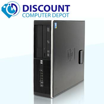 "HP 6305 Pro Desktop Computer PC Quad 3.2GHz 8GB 1TB Windows 10-64 with 19"" LCD"