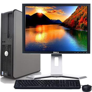 "Lot of 25 Dell Optiplex Desktop Computer Windows 10 C2D 3.0ghz 4gb 1TB 19"" LCD"
