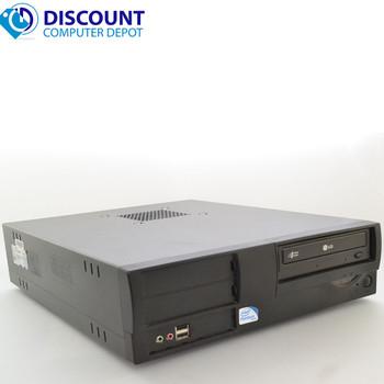 Fast Windows 10 Desktop Computer PC Intel Pentium Dual Core 2.8GHz 4GB Wifi