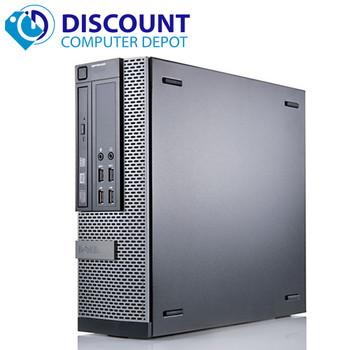 "Dell OptiPlex 990 Desktop Computer Quad I7-2600 3.4GHz 8GB 500GB Windows 10 Pro and WIFI w/ 19"" LCD Monitor"