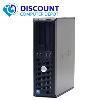 Lot of 5 Dell Optiplex Windows 10 Pro Desktop PC Computer Intel C2D 3.0GHz 4GB 250GB DVD