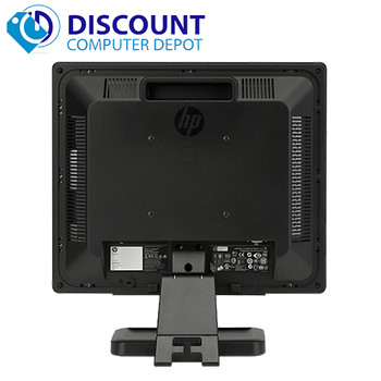 "(Lot of 5) HP 17"" Flat Panel Screen LCD Monitor with VGA Cable (1 Year Warranty)"