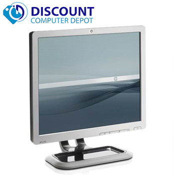 """HP 19"""" Flat Panel Screen LCD Monitor with VGA Cable (1 Year Warranty!)"""