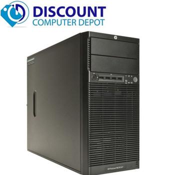 Fast HP Computer Windows 10 Tower Desktop PC Intel Core i3 4gb 250gb wifi