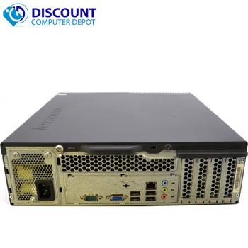 Fast Desktop Computer Quad Core Lenovo Windows 10 PC Intel Core 2 Quad 4GB 250GB