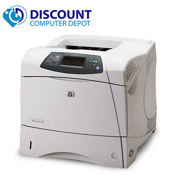 HP LaserJet 4300n Monochrome Laser Printer