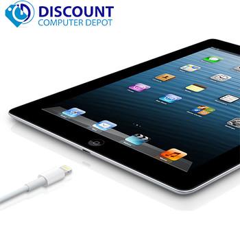 "Apple iPad 3rd Generation Retina 9.7"" Screen 16GB Wifi Black w/ Charger"