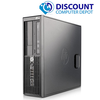 HP Z-Series Workstation Desktop Computer PC i3 3.1GHZ 8GB 500GB Windows 10 Pro