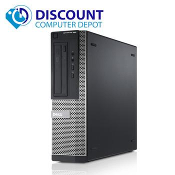 """Dell Optiplex 390 Desktop Computer PC i3 4GB 250GB Dual 2x22"""" LCD's Windows 10"""