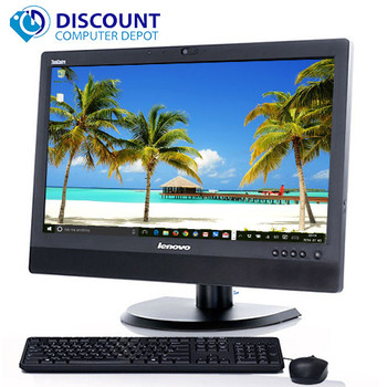 "Lenovo M73z 20"" Windows 10 Pro Desktop Computer All-In-One Quad i5 8GB 500GB"
