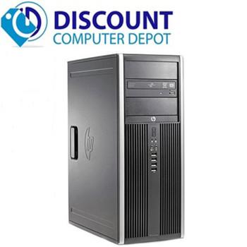 Fast HP 6200 Windows 10 Pro Desktop Computer Tower PC  Intel Core i3 8GB 320GB
