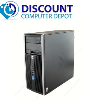 Fast HP 6200 Windows 10 Pro Desktop Computer Tower PC  Intel Core i3 8GB 320GB