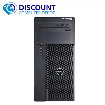 Dell Precision T1650 Desktop Computer Intel Xeon 3.5GHz 16GB 1TB Windows 10 Pro