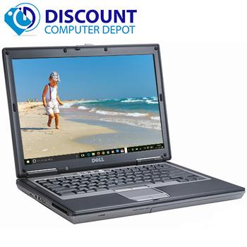 Fast Dell Latitude D Series Laptop Notebook PC Dual Core 4GB Wifi Windows 10