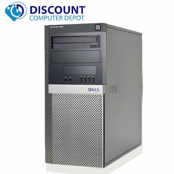 Dell 960 Windows 10 Desktop Computer PC Tower Core 2 Duo 4GB RAM 250GB Wifi