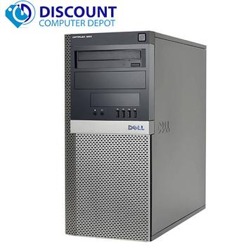 Dell Optiplex 960 Desktop Computer Tower Windows 10 Pro 3GHz Core 2 Duo 8GB 1TB