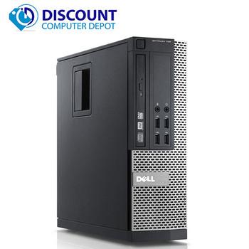"Dell Optiplex Desktop Computer Quad Core i5 8GB 500GB Windows 10 Pro w/19"" LCD"
