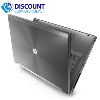 HP Elite 8460w Laptop Computer Core i5 2nd Gen 8GB 500GB Windows 10 Pro DVD-RW and WIFI