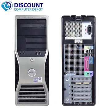 Fast Dell Precision T3400 Desktop Computer C2D 2.4GHz 4GB 500GB Win10 Pro WiFi