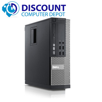 """Dell Optiplex 990 Desktop PC i5 3.3GHz 8GB 1TB WiFi Win 10 Pro w/Dual 22"""" LCDs"""