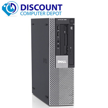 "Dell Optiplex 960 Windows 10 Home 3.0GHz Core 2 Duo Desktop Computer 17"" 4GB RAM 250GB HD"