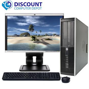 "Fast HP Desktop Computer Core i5 3.1GHz Windows 10 Home 8GB RAM 500GB HD 19"" LCD"
