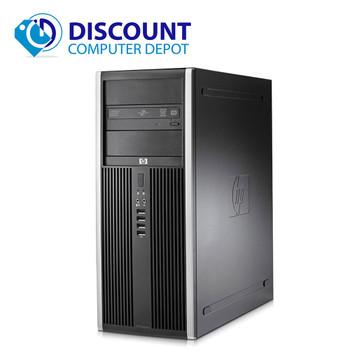 Fast HP Elite Desktop Computer PC Tower Core i5 3.1GHz 8GB RAM 1TB HD Windows 10 Pro