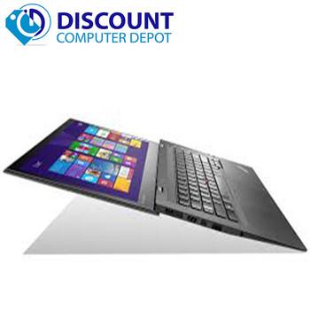 Lenovo ThinkPad X1 Carbon Laptop Computer Intel i7-4600U 2.1GHz 8GB 256GB Windows 10 Pro