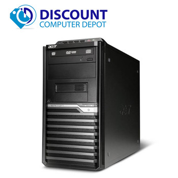 Fast Acer Veriton Desktop Computer PC Quad Core i5 3.0Ghz 8GB 320GB Windows 10
