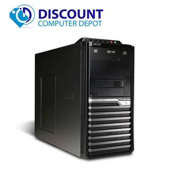 Fast Acer Veriton Desktop Computer PC Quad Core i5 3.0Ghz 4GB 320GB Windows 10