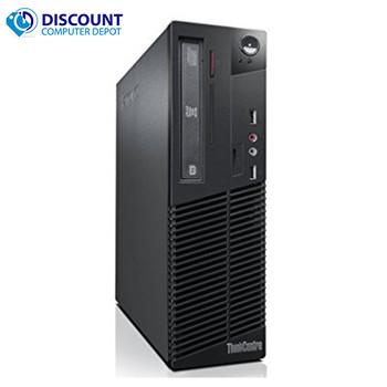 "Lenovo Desktop Computer Intel Dual Core 2.8GHz 4GB 250GB Win 10 Home WiFi w/17"" LCD"