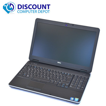 Dell Latitude E6540 Core i5 Laptop Computer Windows 10 Pro PC 8GB 256GB SSD