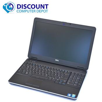 Dell Latitude E6540 Core i5 Laptop Computer Windows 10 Pro PC 8GB 256GB SSD