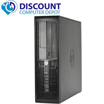 "HP Elite 4300 Desktop Computer PC Windows 10 Pro i5 8GB 500GB Dual 19""LCDs Wifi"