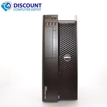 Dell Precision T3600 Windows 10 Pro Desktop Computer Core Xeon 16GB 256GB SSD