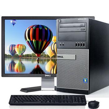 """Dell Optiplex 790 Desktop Computer Tower Core i5 8GB 500GB Windows 10 Pro w/19"""" LCD and WIFI"""