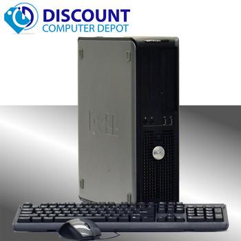 Fast Dell Optiplex Windows 10 Home Desktop Computer PC Dual Core 6GB 160GB DVD WIFI