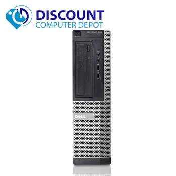Fast Dell Optiplex 390 Windows 10 Pro Desktop Computer Quad i5 3.1GHz 4GB 160GB Dual Video Ready!