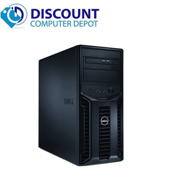 Dell Poweredge T110 Computer Server Tower PC 8GB 1TB Core i3 Windows 10 Pro with Keyboard & Mouse