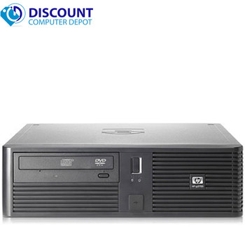 HP RP 5700 Desktop Computer PC Windows 10 PC Intel Core 2 Duo 2.6GHz 4GB 160GB Wifi