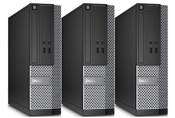 Wholesale Lot: Dell Optiplex 3020 SFF Desktop Computer i5 3.3GHz 4GB 320GB Windows 10 Pro WiFi