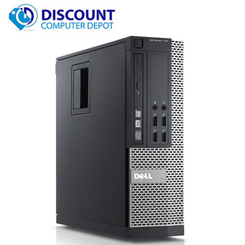 "Dell Optiplex Desktop Computer Intel Core i5 8GB 128GB SSD Windows 10 Pro W/22"" LCD"