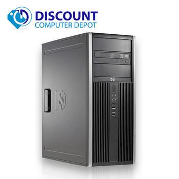Clearance! Fast HP Elite Computer Tower PC Intel Core i3 4GB 320GB Windows 10