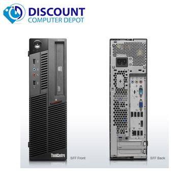 Fast Lenovo M82 Windows 10  Desktop Computer Intel i3 PC 3.1GHz 4GB 250GB